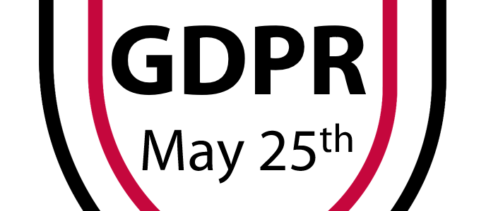 GDPR enters into force on May 25th