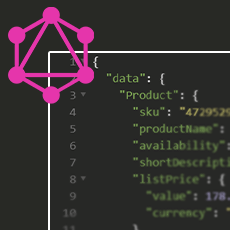 GraphQL Logo and Code Example